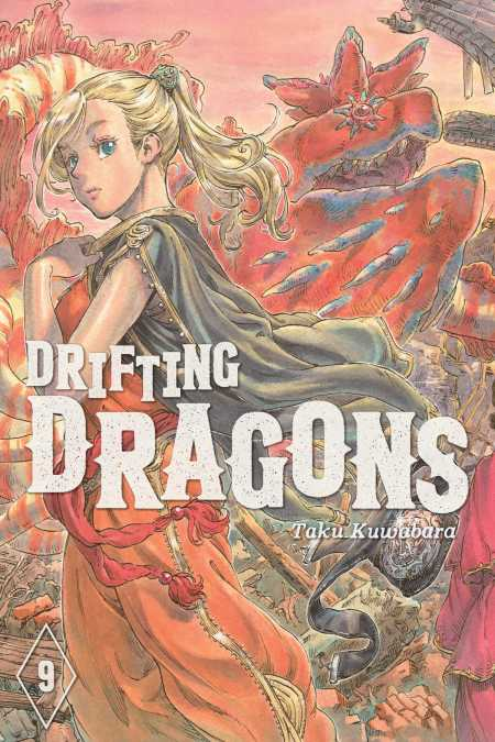 cover for Drifting Dragons, 9