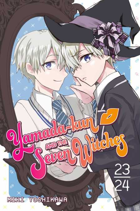 cover for Yamada-kun and the Seven Witches, 23-24