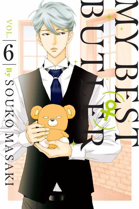 cover for My Best (♀) Butler, 6