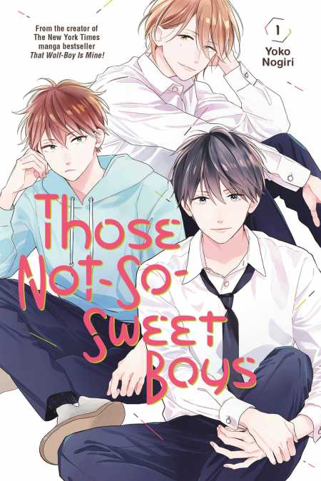 cover for Those Not-So-Sweet Boys, 1